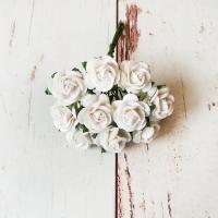 Розы, Белые, 10шт.