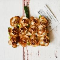Розы, Золотые, 12шт.