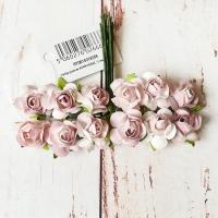 Розы, Бледно-коричневые, 12шт.