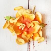 Гардения, Оранжевая (5см)