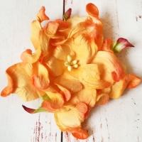 Гардения, Ярко-оранжевая (7см)
