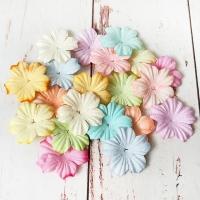 Цветы пастель (2,5см) 20шт.