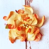 Гардения, Ярко-оранжевая (5см)
